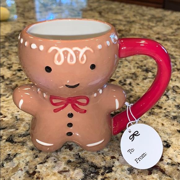 THRESHOLD Gingerbread Man Mug Christmas Holiday